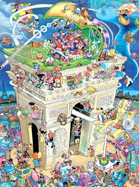 Arc De Triomphe Jigsaw By Robert Crisp Hey29492 1500 Pcs