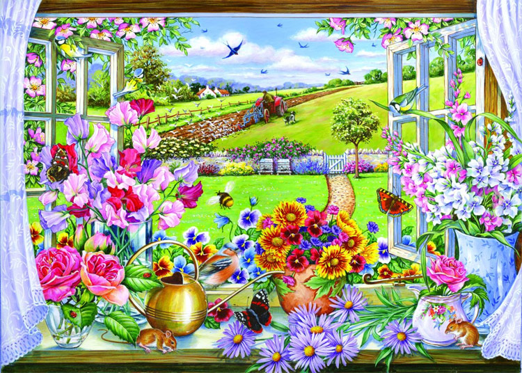 Room With A View Jigsaw By The House Of Puzzles Hop 124