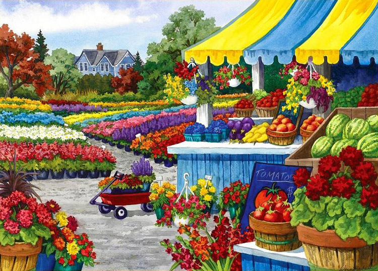Pick Of The Crop Home Grown Jigsaw By Holdson Hol093670
