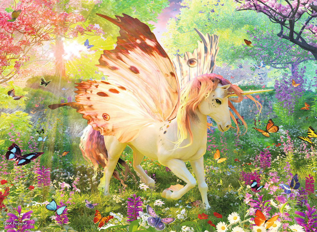 Magical Forest Unicorn Jigsaw By David Penfound Rb13092 4