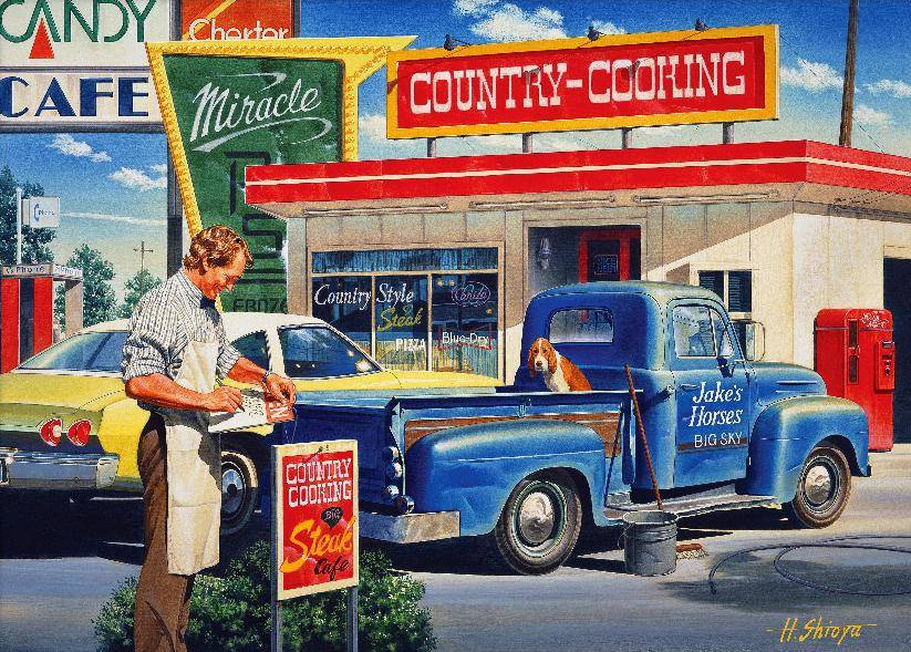 Country Cooking Automania Jigsaw By H Shioya Hol095629