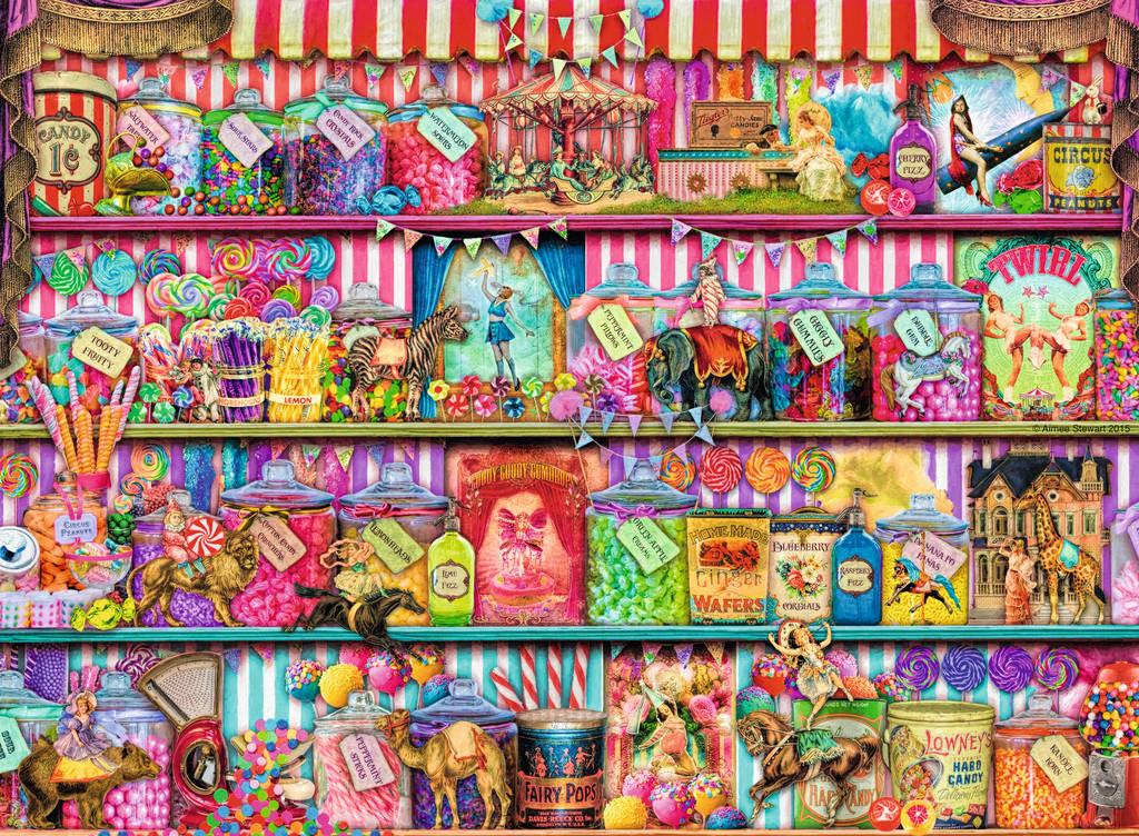 The Sweet Shop Jigsaw By Aimee Stewart Rb14653 6 500 Pcs