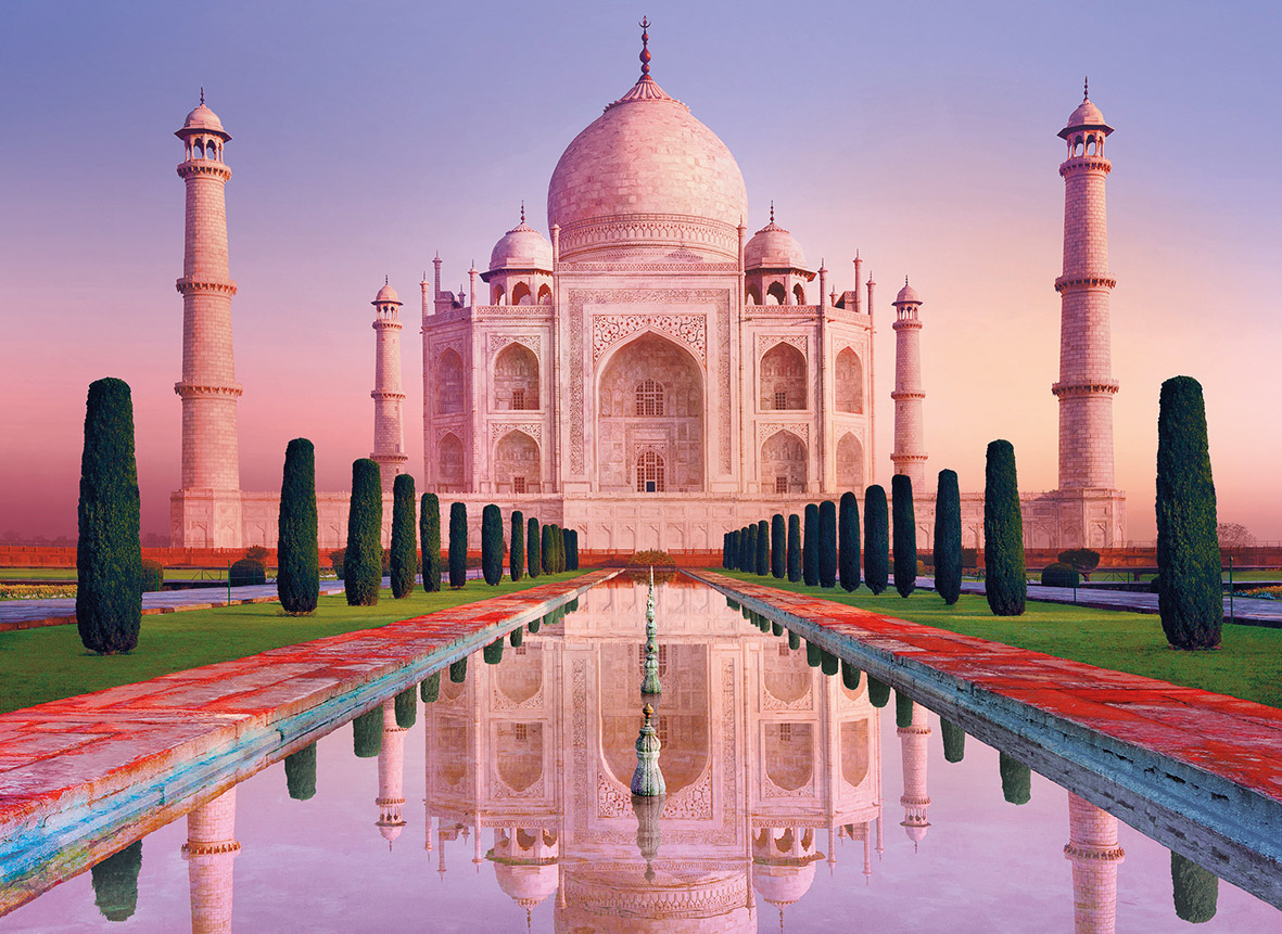 Taj Mahal Jigsaw By Clementoni Cle 39294 1000 Pcs