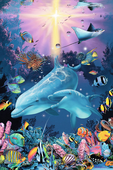 Under The Sea Glow In The Dark Jigsaw By Ravensburger