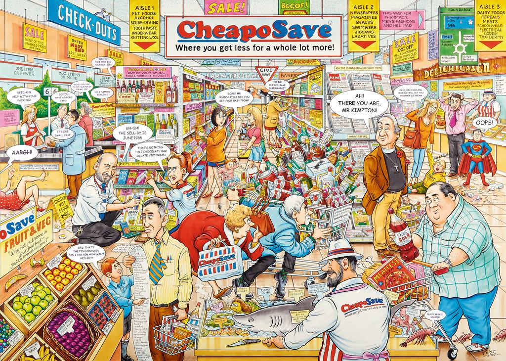British Supermarket Jigsaw By Ravensburger Rb19587 9
