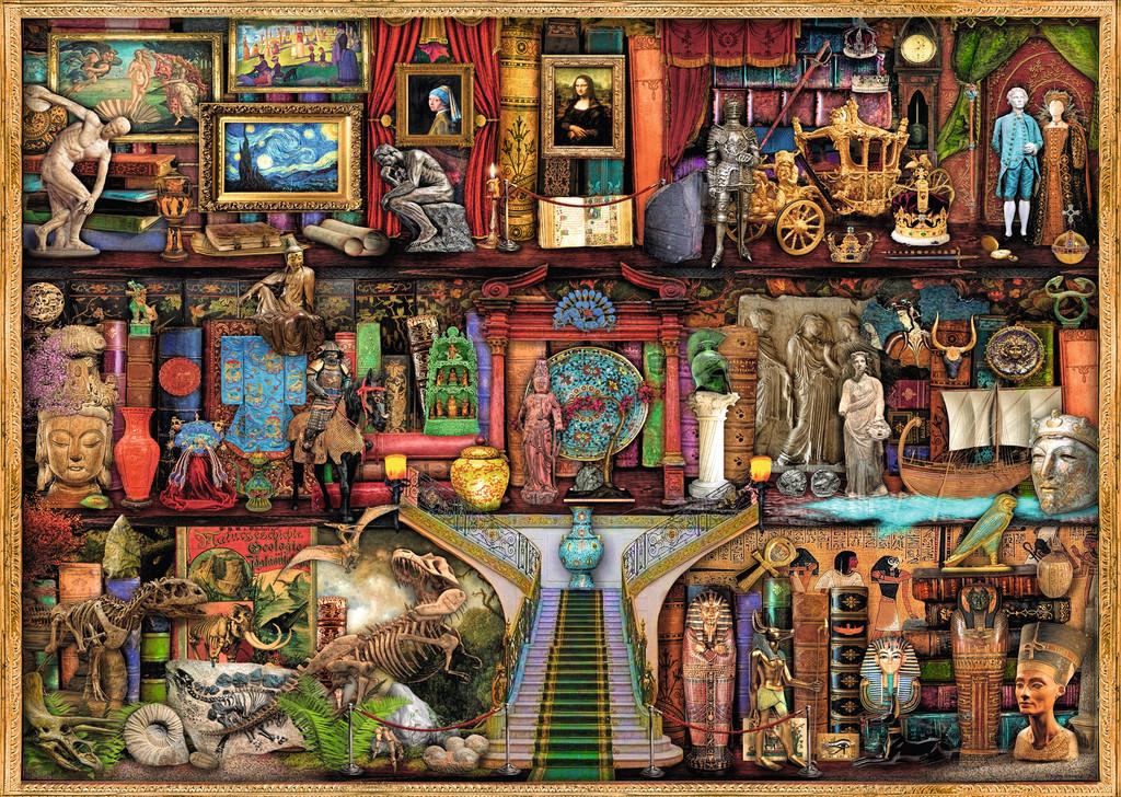 Museum Of Wonder Jigsaw By Aimee Stewart 19634 0 1000